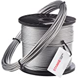 Seilwerk STANKE 15m 8mm Drahtseil 6x19 verzinkt Stahlseil Forstseil Windenseil Seil Draht Stahl