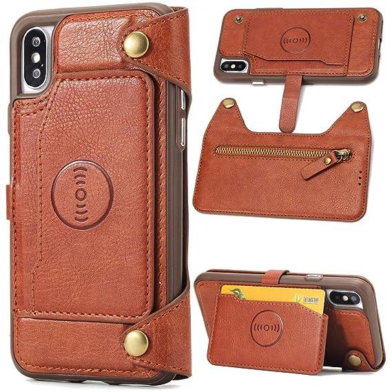iphone xs wallet case vegan
