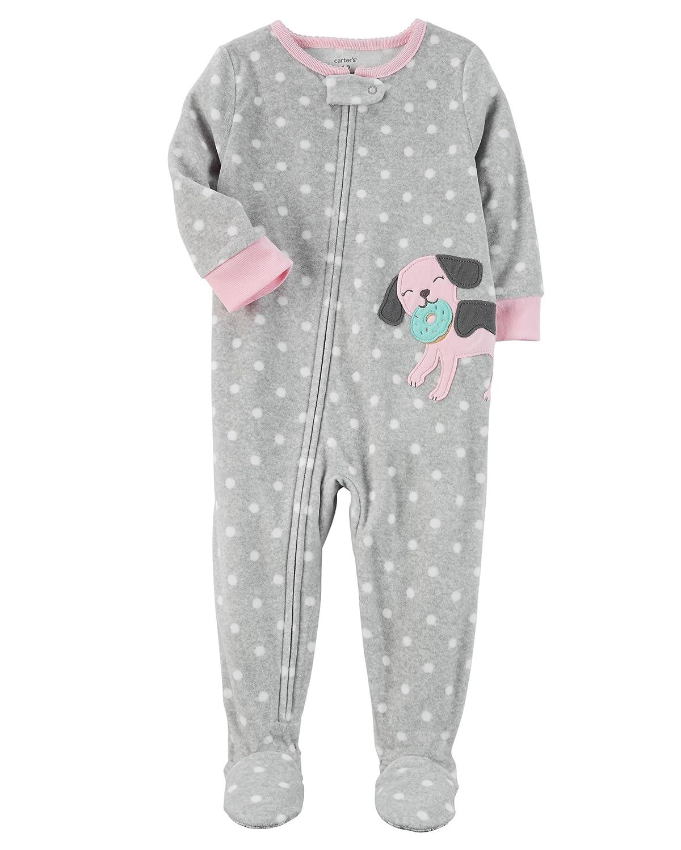 ae0a0c10869b Amazon.com  Carter s Baby Girls Fleece Footed Pajamas (1 piece) New ...