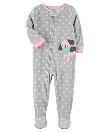 ae0a0c10869b Amazon.com  Carter s Baby Girls Fleece Footed Pajamas (1 piece) New ...