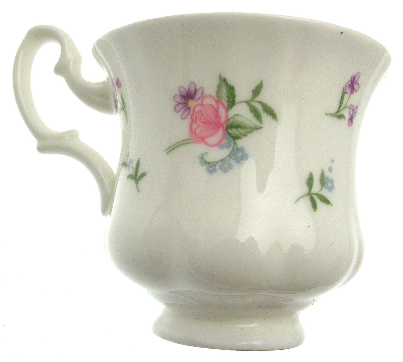 Royal Albert Tasse et soucoupe Motif fleurs de printemps