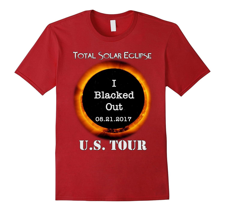 Total Solar Eclipse US Tour 08212017 I Blacked Out Shirt PL