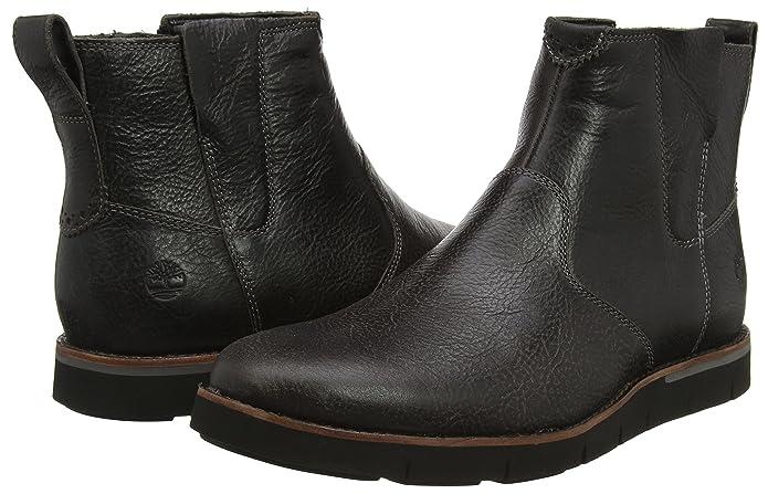 e0984bb857054 Amazon.com: Timberland Boot A1IN7 Black Preston 41 Black: Shoes