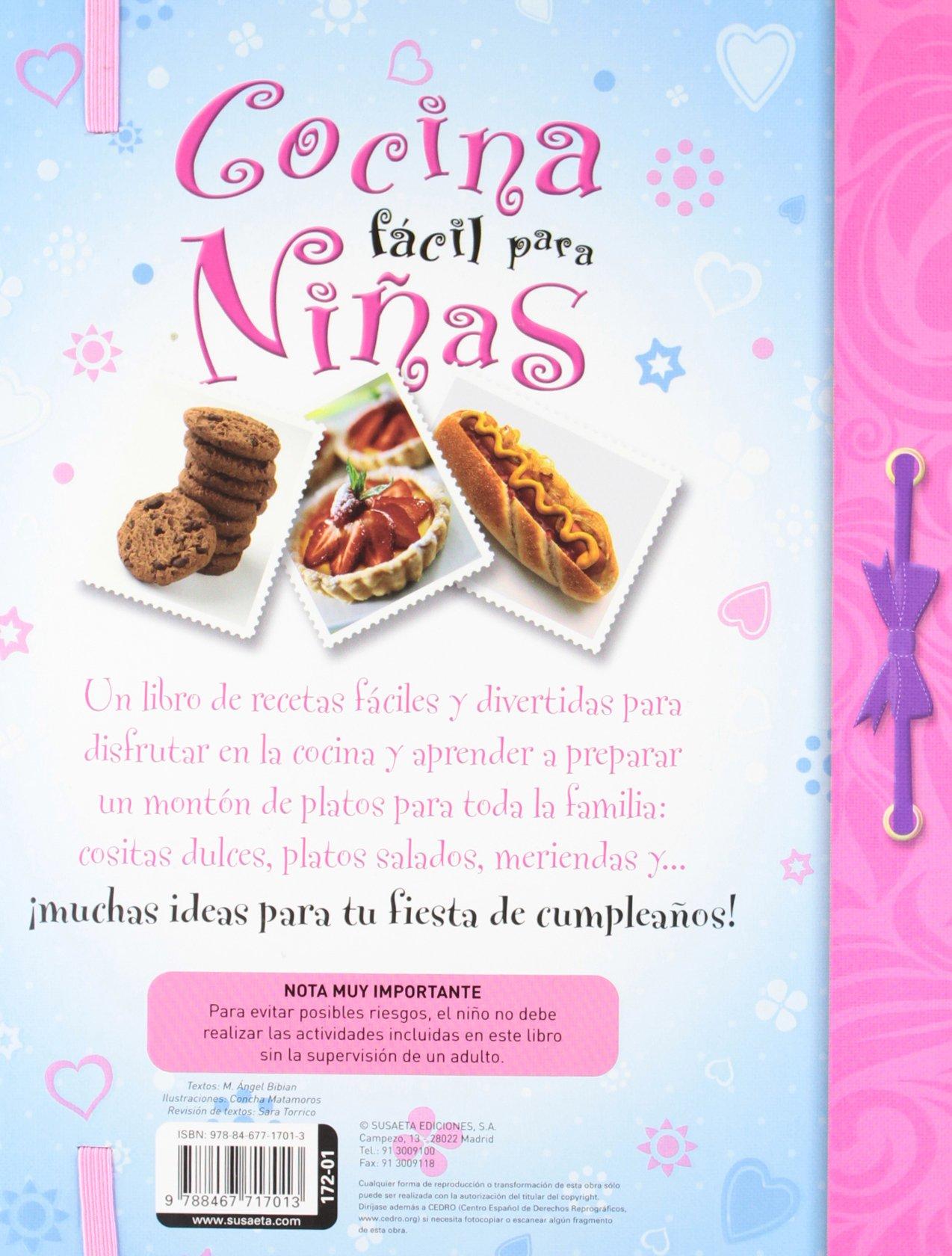 Cocina facil para ninas / Easy cooking for girls (Spanish Edition) by Susaeta Ediciones (Image #1)