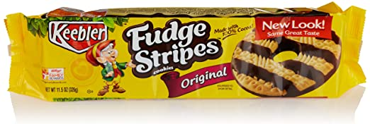 Keebler Fudge Stripes Cookies, 11.5 Oz