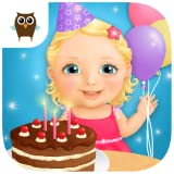 Sweet Baby Girl - Celebrate Baby Birthday, Bake Cake, Get Presents and Pop Baloons