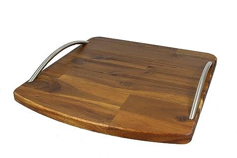 streamb Rush® Premium – deslizante Tabla de madera deslizadores de madera maciza para Thermomix TM5