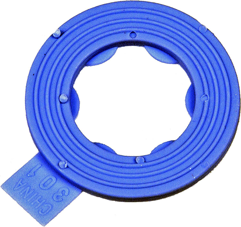 Dorman 097-116CD Nylon Rib Drain Plug Gasket 5 Pack Fits M12 for Select Models Pack of 5