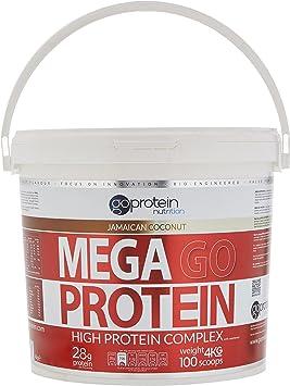 4 kg Mega Go proteína Coco de Jamaica: Amazon.es: Salud y ...
