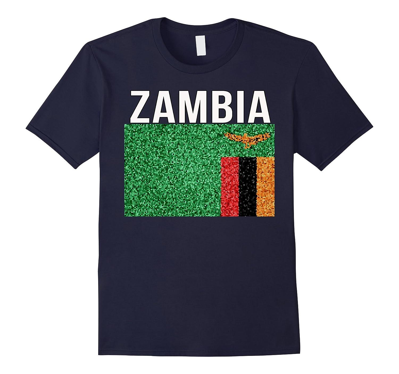 Zambia Tee - New Artistic Expat Flag T-shirt-TH