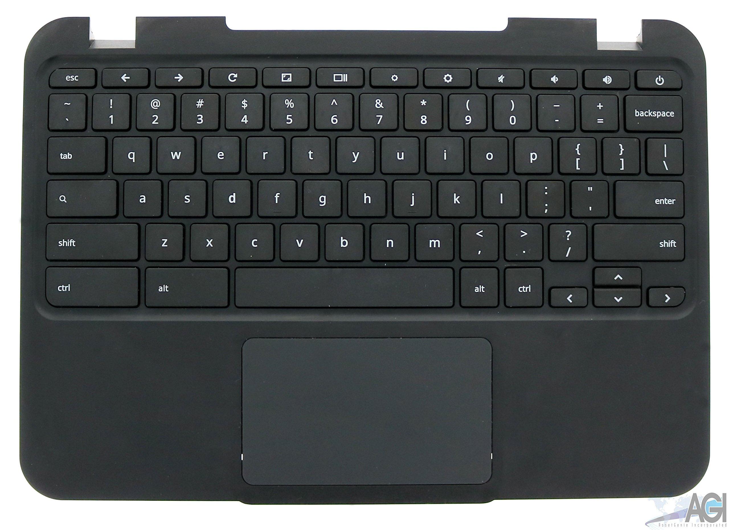 Lenovo N21 Chromebook Keyboard Palmrest Assembly - Lenovo Part # 37NL6TC0040
