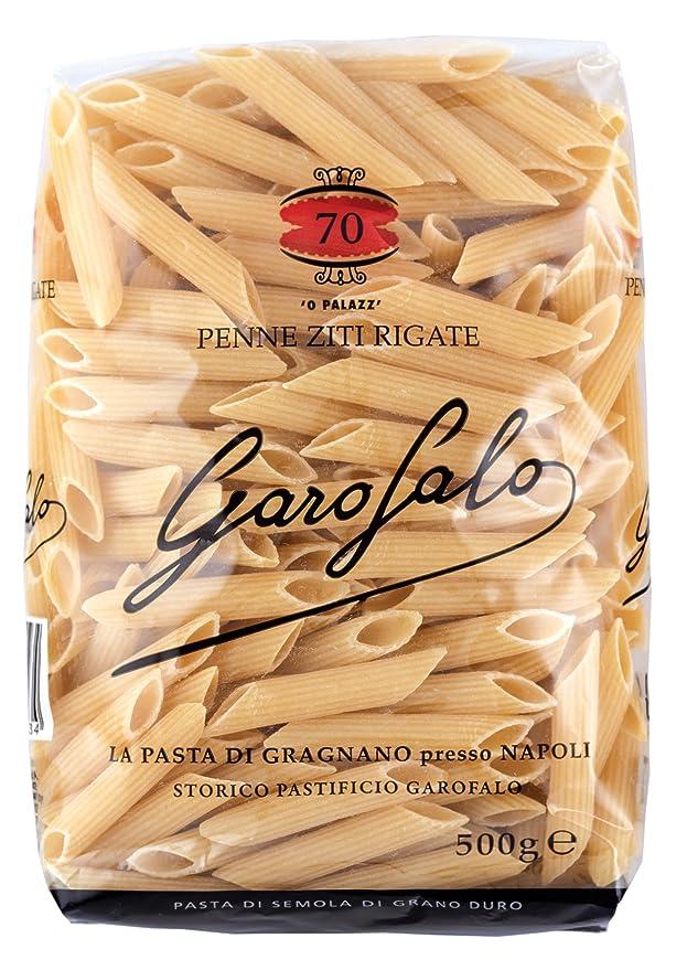 Garofalo Penne Ziti Rigate Pasta n.70 - 500g: Amazon.es: Alimentación y bebidas
