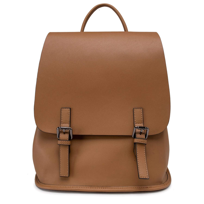 00fc6f606a Brown Mini Backpack Purse For Teen Girls Small Backpack Purse Leather  Casual Mini Backpack For Teens Daypack Mini Backpack Purse For Women School  Bag ...