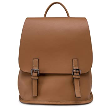 3f18c32b8eb1 Brown Mini Backpack Purse For Teen Girls Small Backpack Purse Leather  Casual Mini Backpack For Teens