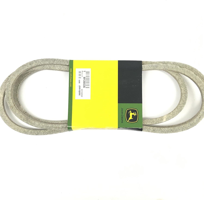 Amazon.com: John Deere equipo original Cinturón # m126536 ...