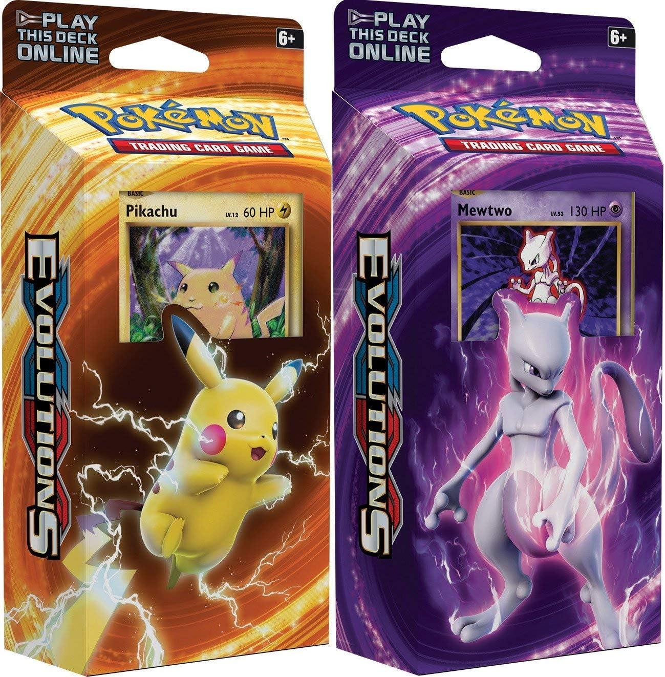Amazon Com Pokemon Tcg Xy Evolutions 60 Card Theme Deck