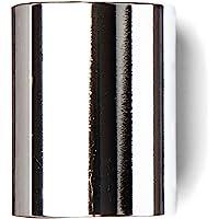 Dunlop 221 Chromed Steel Slide, Medium Wall Thickness-Medium