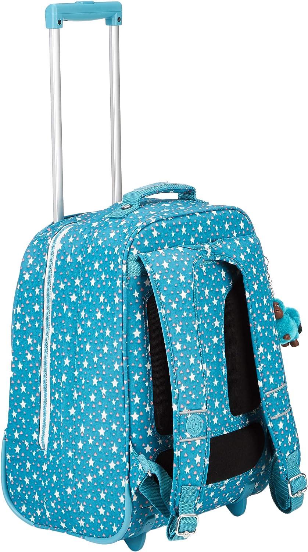 Bleu Kipling Blue Green Mix - Grand sac /à dos CLAS SOOBIN L