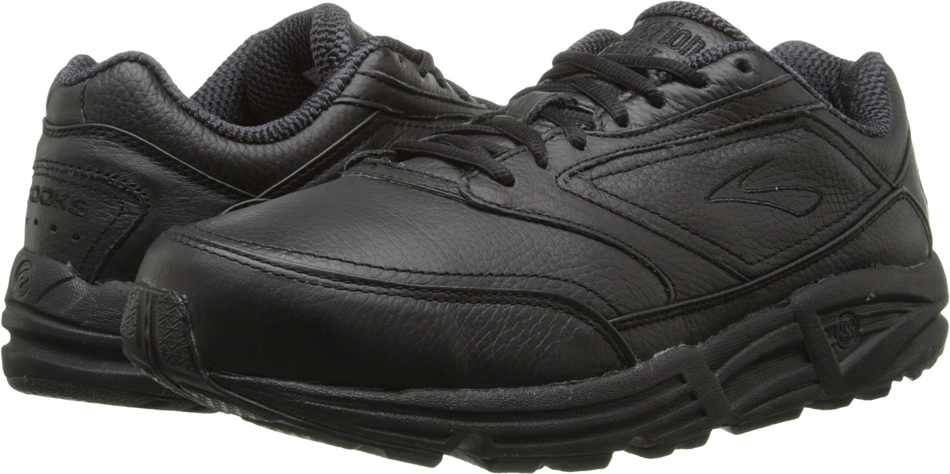 Brooks Men 's Addiction Walker Walking Zapato, color negro, talla 10.5 D by Brooks