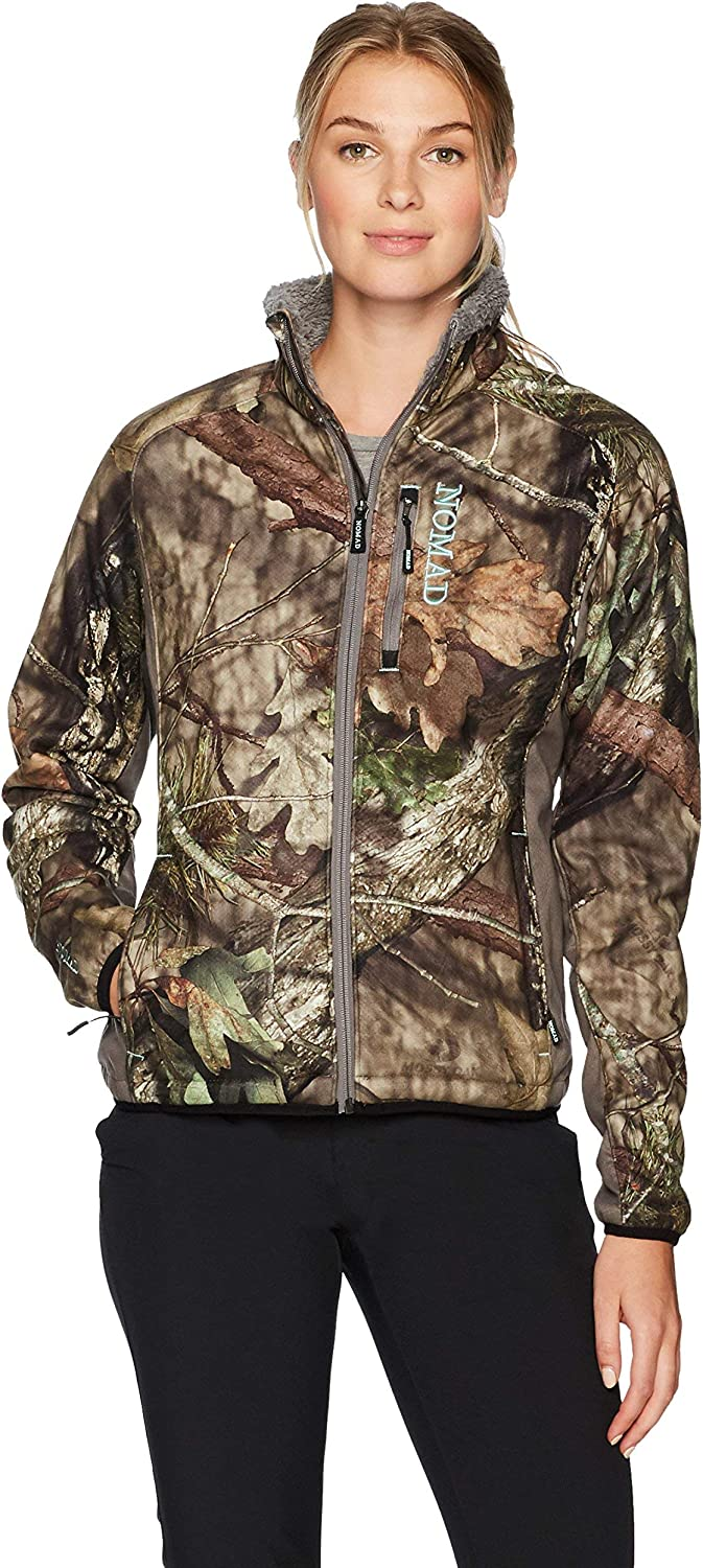 Nomad Women's Harvester Jacket, Mossy Oak Break-Up Country, X-Large