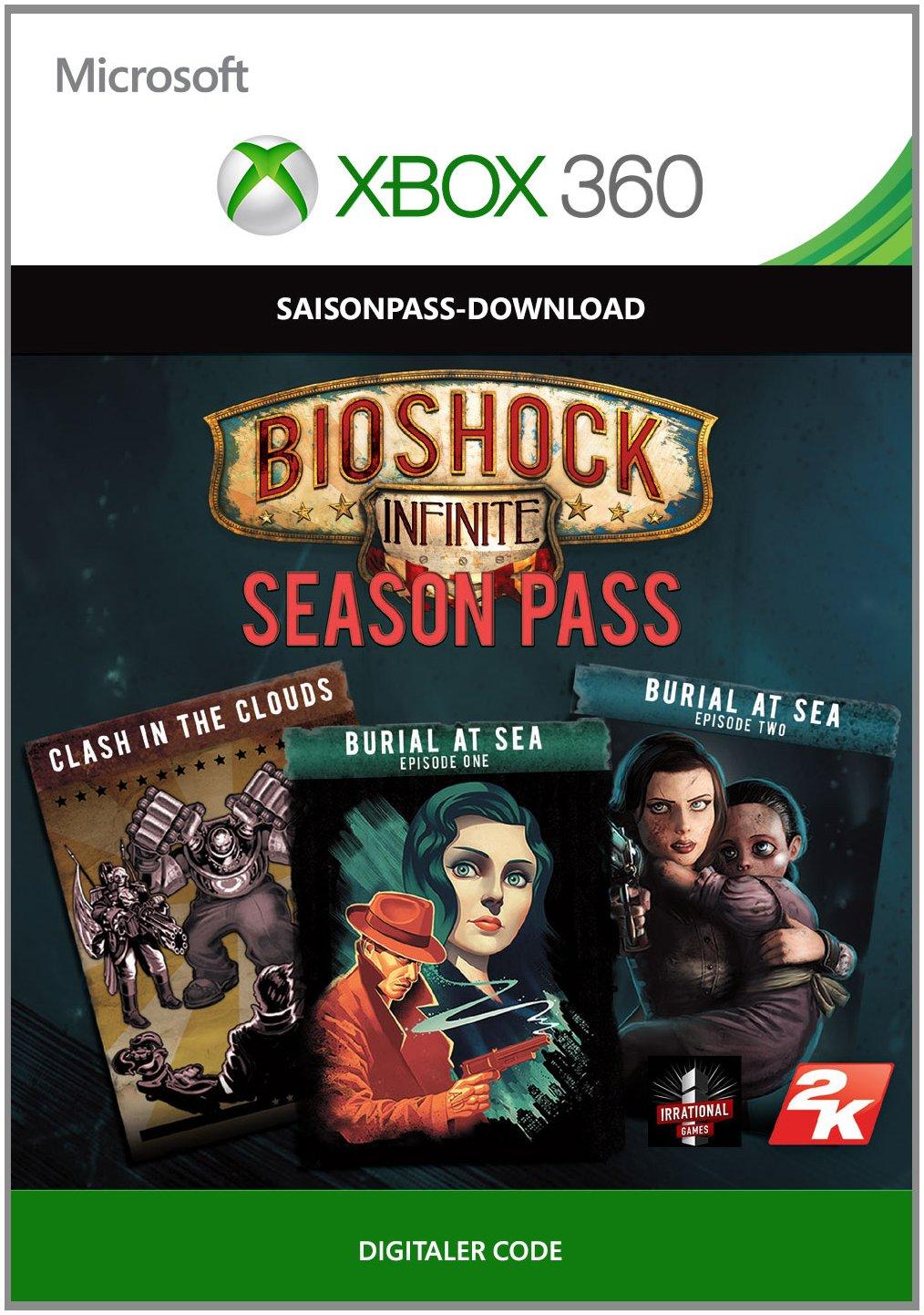 BioShock Infinite Season Pass [Xbox 360 - Download Code]