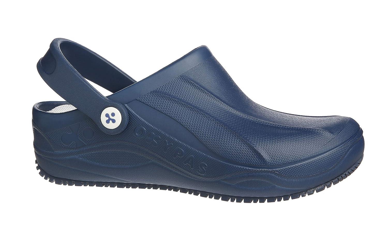Oxypas Smooth, Unisex Adults' Safety Shoes, White (Egn), 6.5 UK (40 EU)