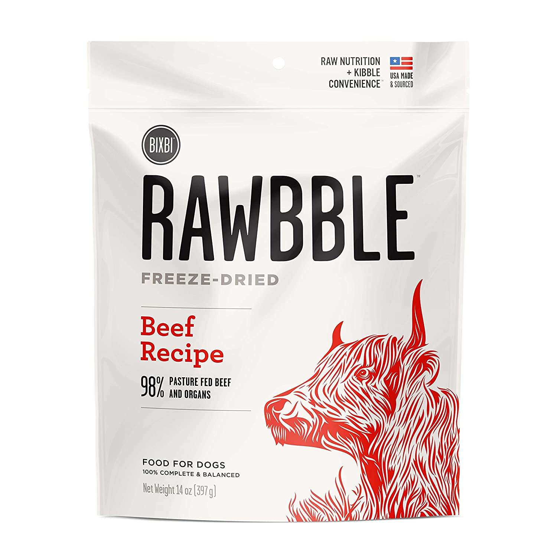 Rawbble Beef, 14-Ounce