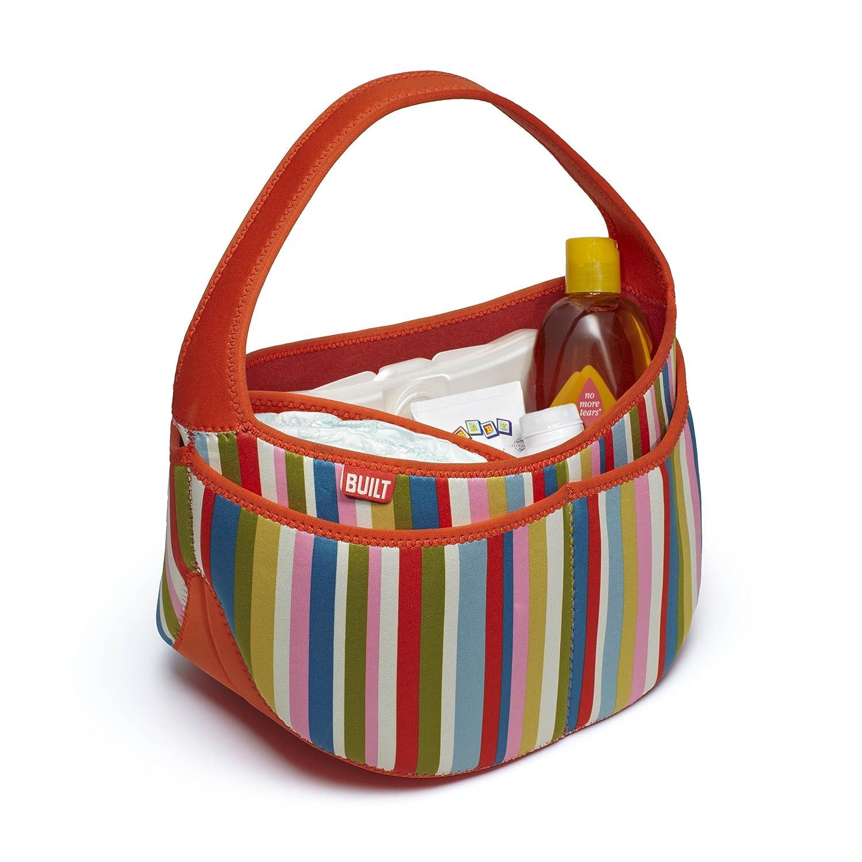 gestreift Built NY Baby Essentials Baby-Tasche Rosa