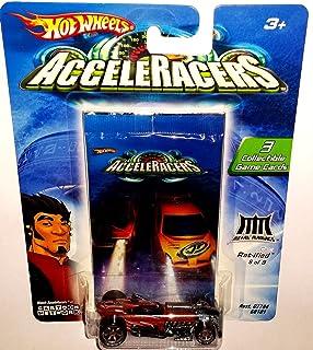 Hot Wheels AcceleRacers Metal Maniacs #8 of 9 Rat-ified (6 Spoke Version