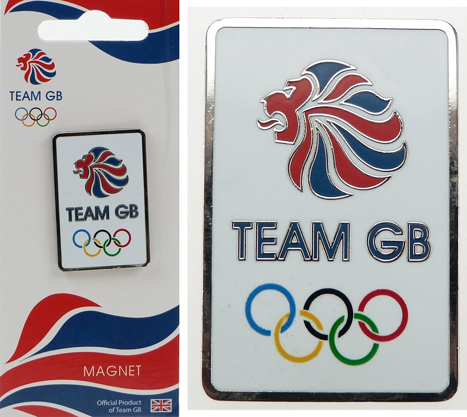 London 2012 Paralympic souvenir Key ring Collectable KEY CHAIN TEAM GB # 2
