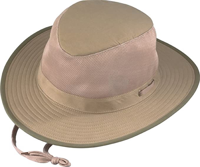 feceaae4d85 Amazon.com   Henschel Soft Brushed Cotton Aussie Breezer Hat   Clothing