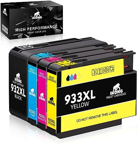 IKONG Compatible HP 932XL HP 933XL 932 XL 933 XL Cartuchos de ...