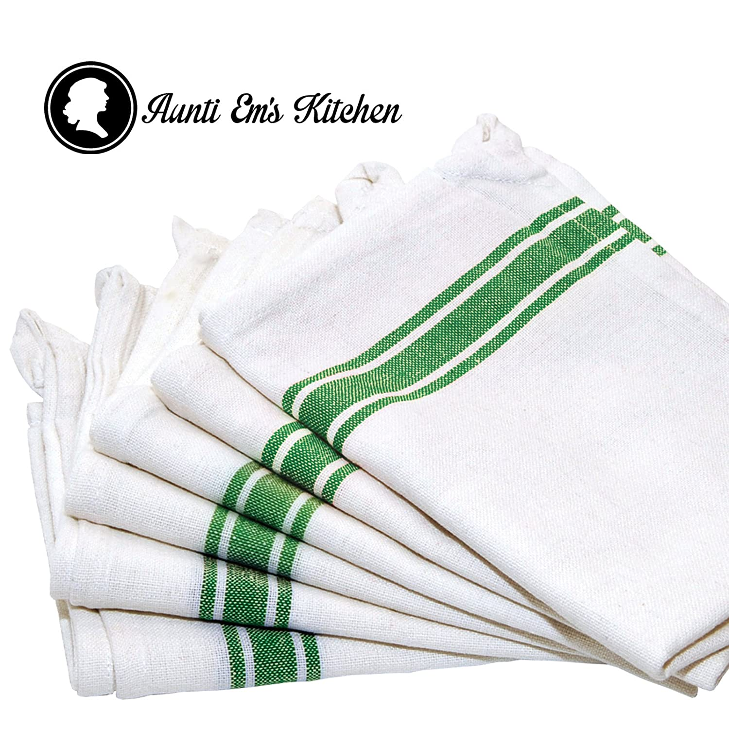 Amazon.com: Kitchen Dish Towels with Vintage Design for Kitchen ...