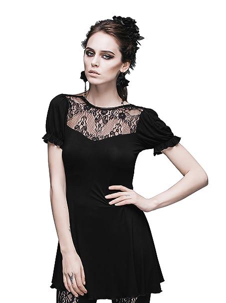Steampunk blusa de encaje gótico Punk Tops para Victorian disfraz de renacimiento: Amazon.es: Ropa y accesorios