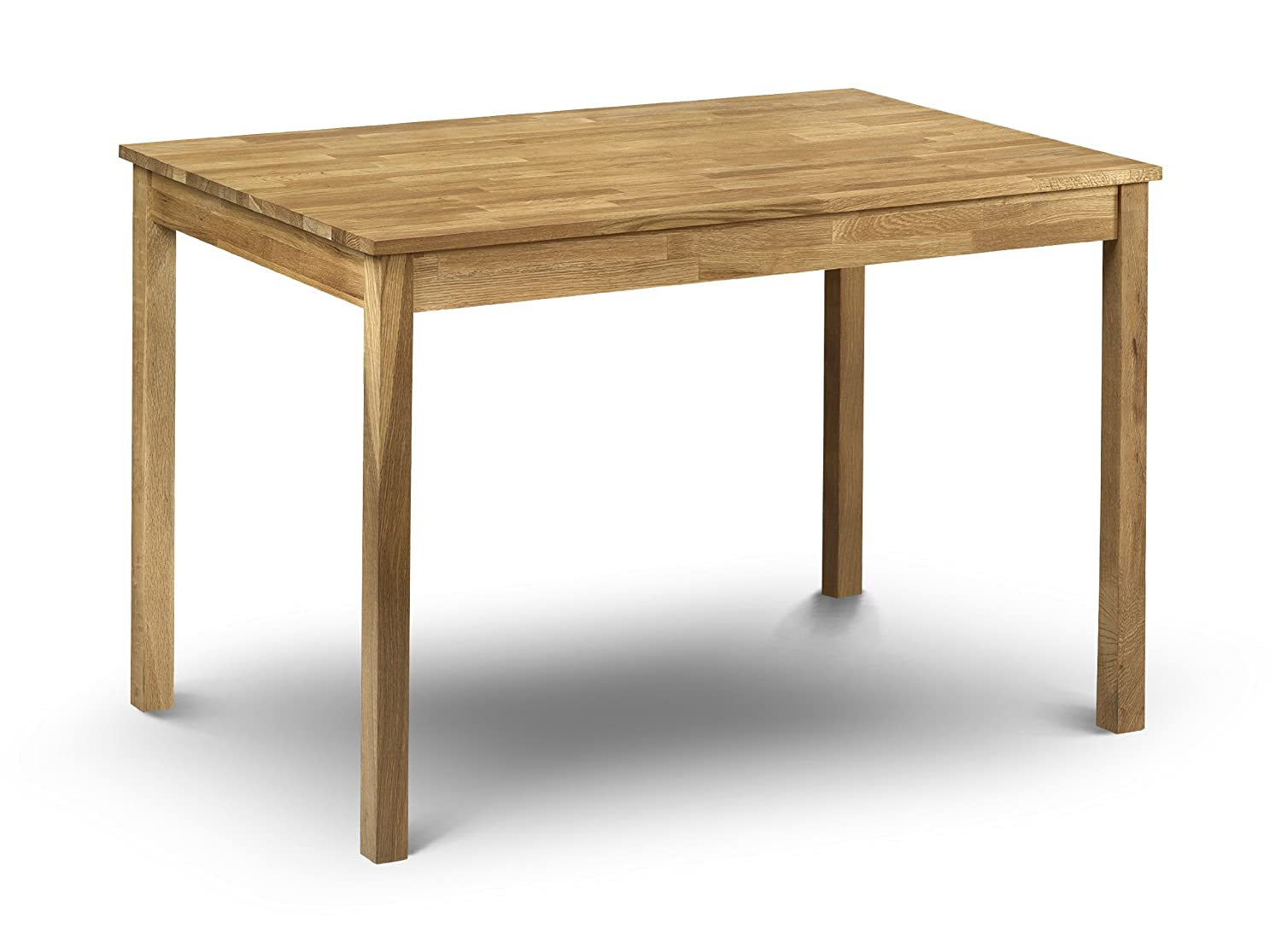 Julian Bowen Coxmoor Solid Oak Rectangular Dining Table, Oak Coxmoor Oak Dining Table