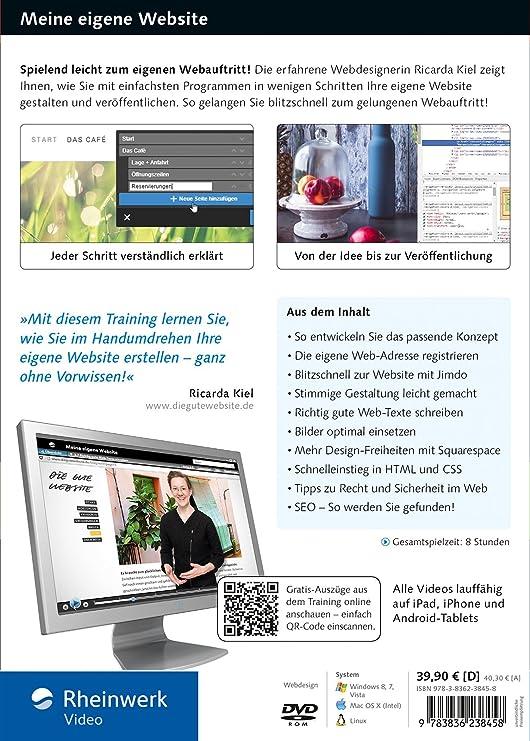 Meine Eigene Website meine eigene website schritt für schritt zum gelungenen webauftritt