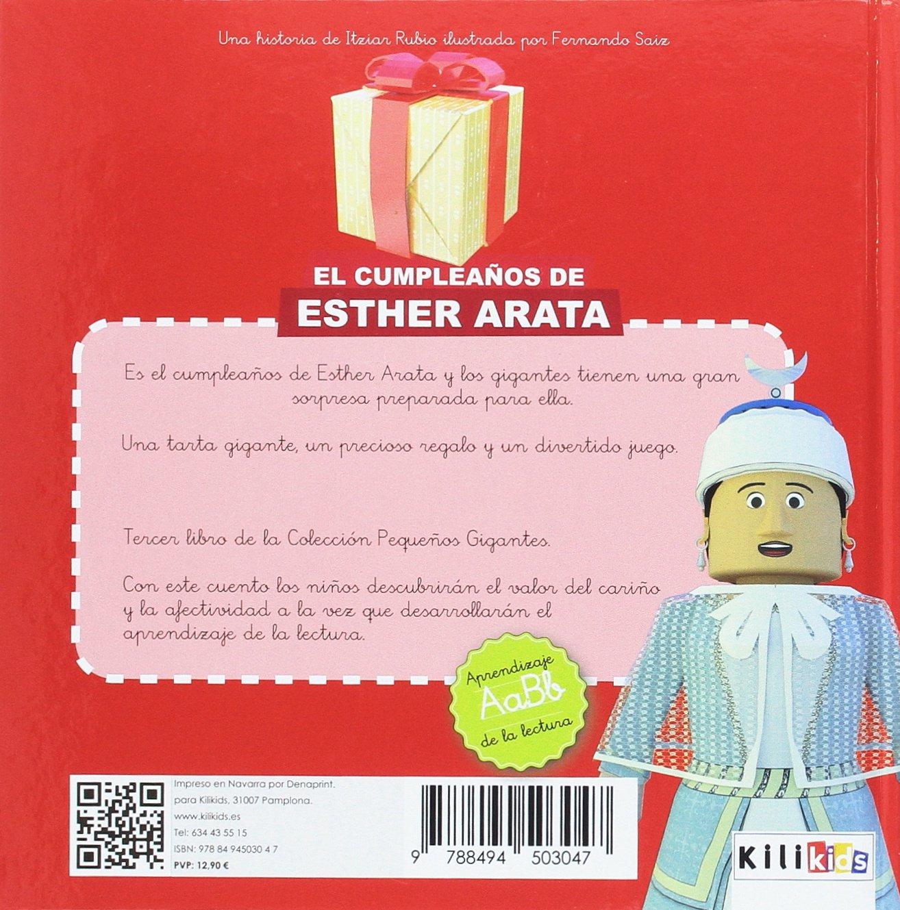 El cumpleaños de Esther Arata: 9788494503047: Amazon.com: Books