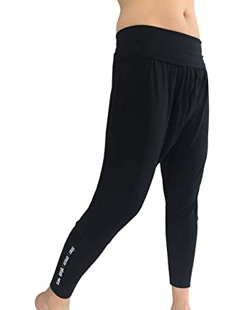 6d1558de91 Karmala Bamboo Baggy Harem Pants, Soft and Eco-Friendly at Amazon Women's  Clothing store: