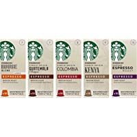 Starbucks 星巴克 混装胶囊咖啡 兼容Nespresso咖啡机(5包,共50个胶囊)