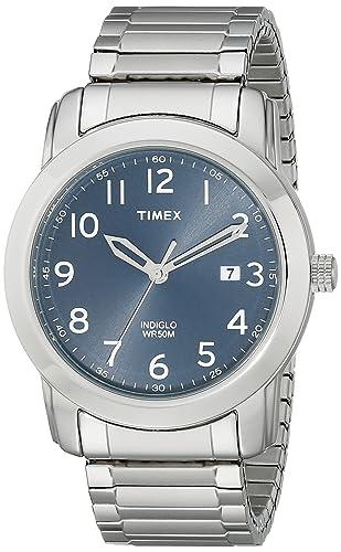 Amazon.com: Timex Men's T2P133 Highland Street Tan Leather Strap ...