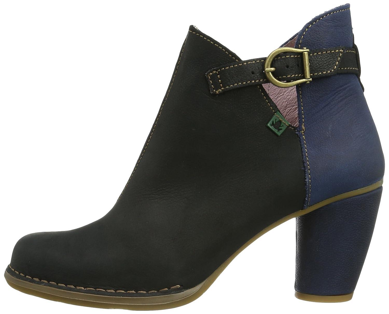 El Naturalista Colibri N472, Botines para Mujer, Negro, 36 EU: Amazon.es: Zapatos y complementos