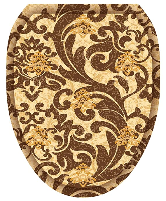 Cool Toilet Tattoos Tt 1114 O Tuscany Filigree Decorative Applique For Elongated Toilet Lid Pabps2019 Chair Design Images Pabps2019Com