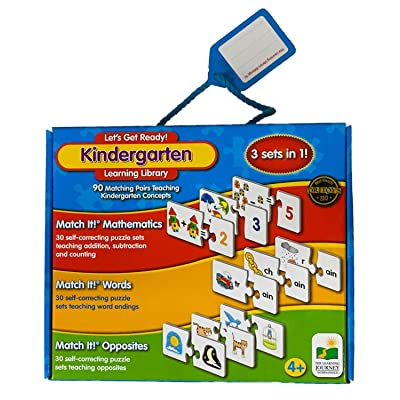 Let's Get Ready! Kindergarten Learning Library: Toys & Games