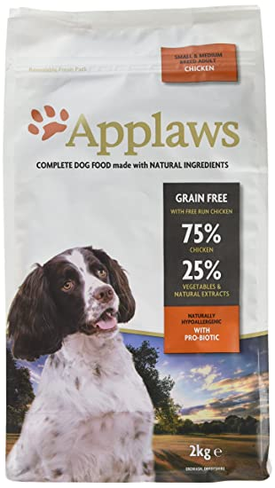 Applaws Natural Complete Dog Dry Food Small Medium Breed Adult