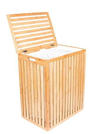 Elegant BirdRock Home Clothes Spa Laundry Hamper | Made Of Natural Bamboo Nice Ideas