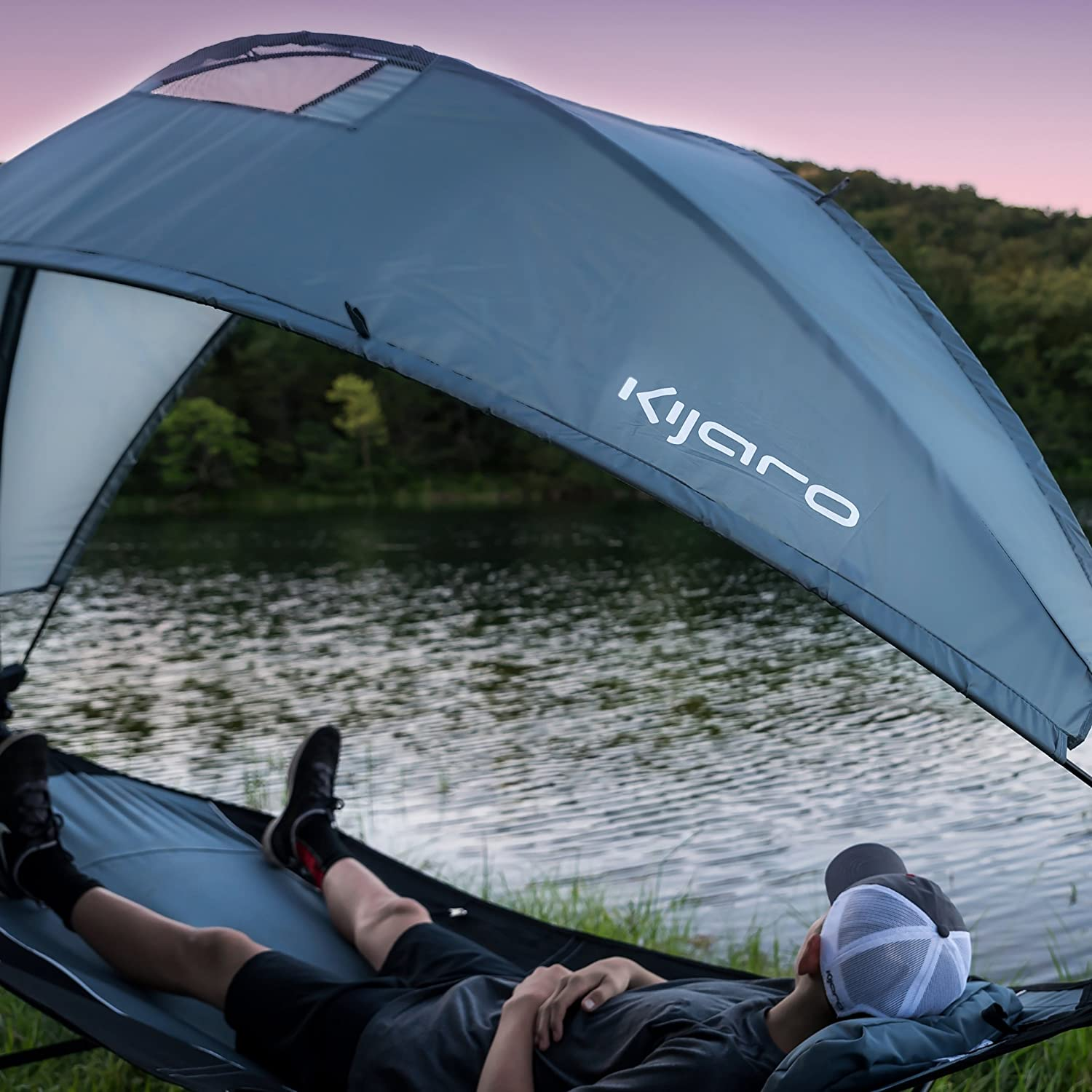 Kijaro Portable Hammock Detachable Rotating Image 2