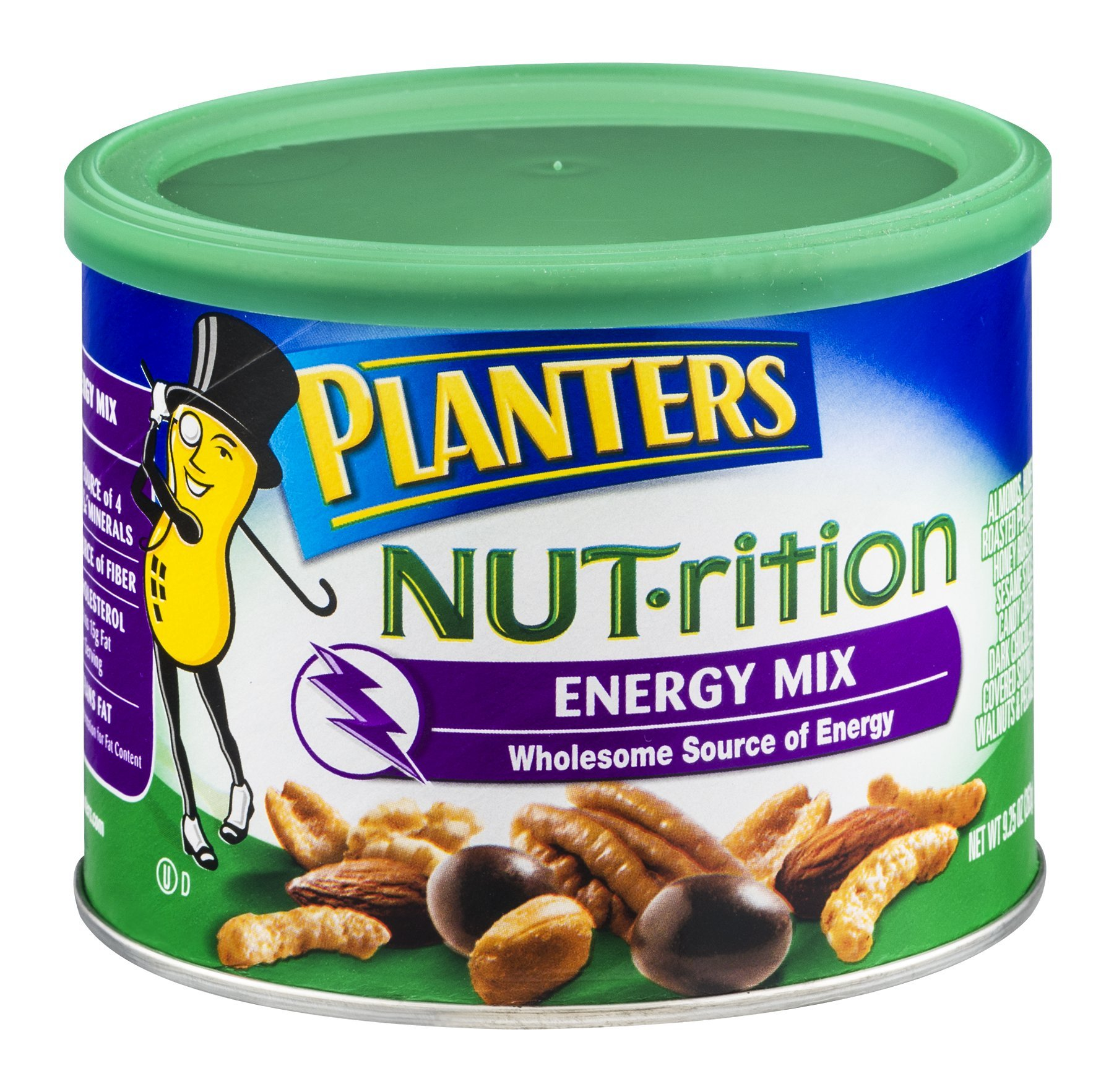 Planters Nutrition Energy Nut Mix, 9.25 Ounce -- 12 per case.