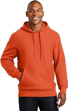 Sport-Tek Men/'s Front Pouch Pocket Pullover Hooded Fleece Sweatshirt F281