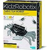 4M 5576 Table Top Robot - DIY Robotics Stem Toys, Engineering Edge Detector Gift for Kids & Teens, Boys & Girls (Packaging Ma