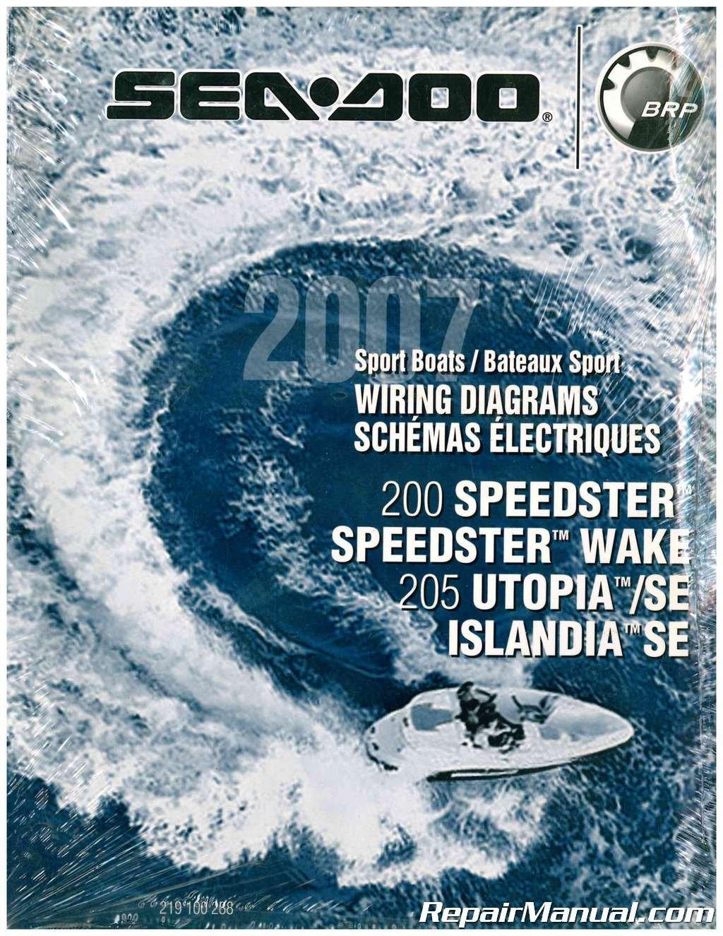219100288 2007 sea-doo boat wiring diagram 200 speedster speedster ... 2004 sea doo sportster wiring diagram  amazon.com